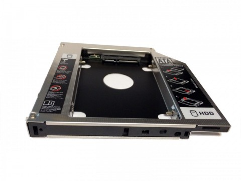 HDD Caddy laptop 12.7mm intern SATA extern IDE