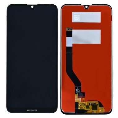Ansamblu Display LCD + Touchscreen Huawei Y7 2019 DUB-LX1 Black Negru . Ecran + Digitizer Huawei Y7 2019 DUB-LX1 Black Negru