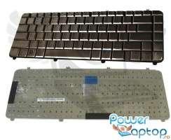 Tastatura HP Pavilion dv5 1060 cafenie. Keyboard HP Pavilion dv5 1060 cafenie. Tastaturi laptop HP Pavilion dv5 1060 cafenie. Tastatura notebook HP Pavilion dv5 1060 cafenie