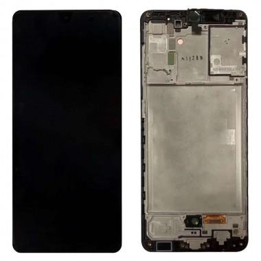 Ansamblu Display + Touchscreen Samsung Galaxy A31 2020 A315 Display cu rama Black Negru .Modul Digitizer + Ecran LCD Display cu rama Black Negru . Geam, sticla + ecran Samsung A31 2020 A315 cu rama Black Negr