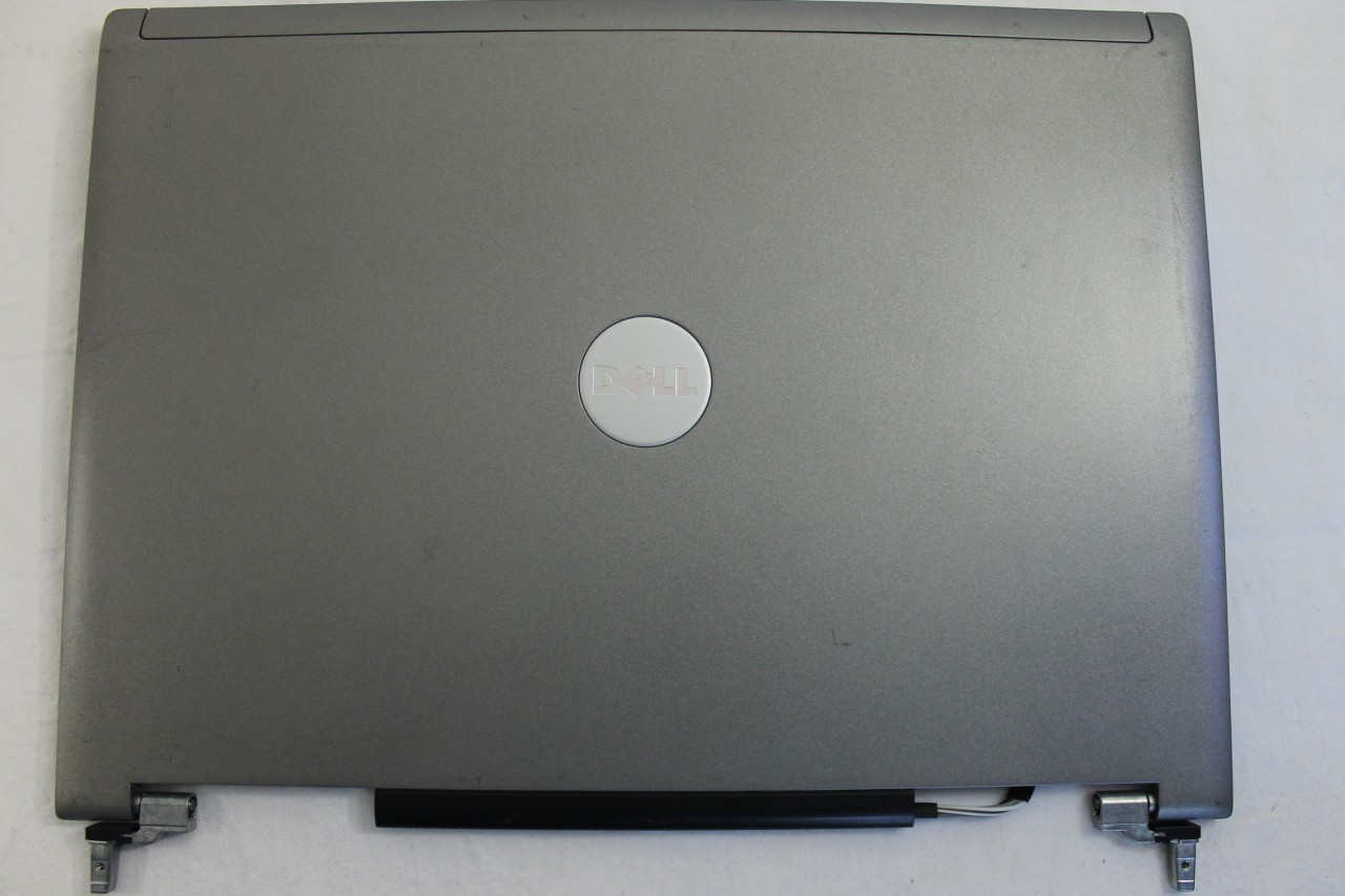 Capac Display BackCover Dell Latitude D820 Carcasa Display Silver / Gri imagine powerlaptop.ro 2021