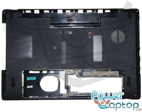 Bottom Packard Bell Easynote TK11BZ 60.R4F02.002. Carcasa Inferioara Packard Bell Easynote TK11BZ Neagra