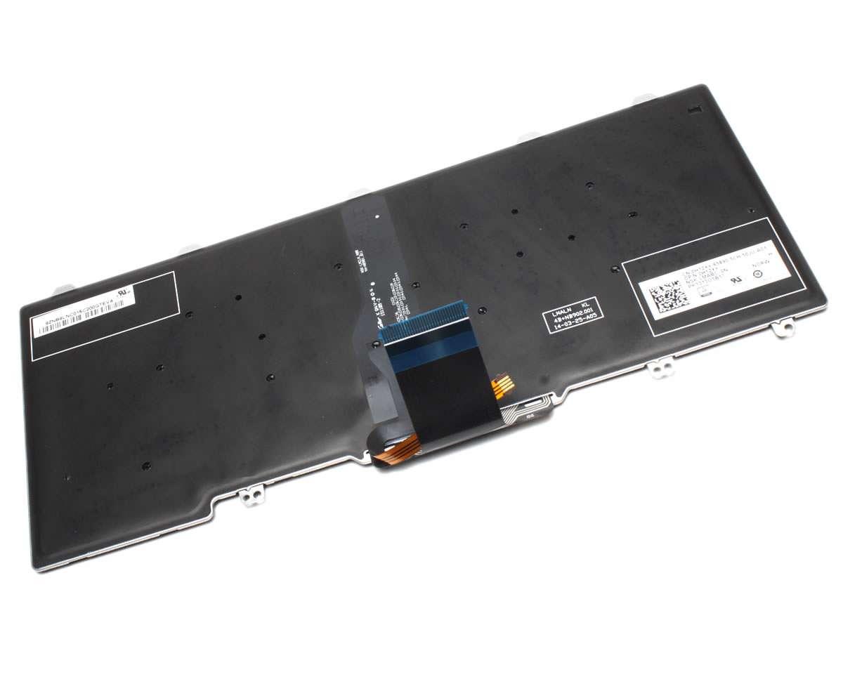 Tastatura Dell Latitude E7250 iluminata layout UK fara rama enter mare imagine