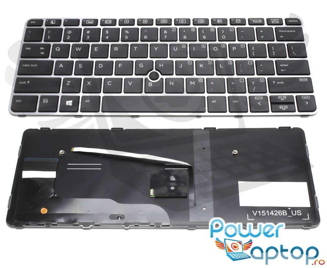 Tastatura HP 820 G4 iluminata backlit imagine