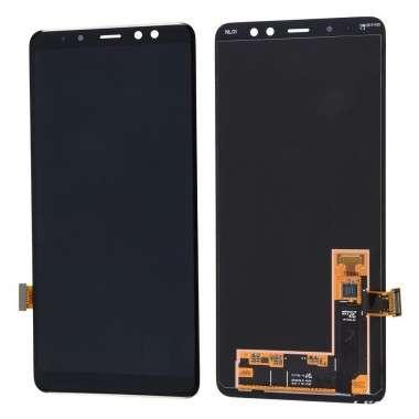 Ansamblu Display LCD + Touchscreen Samsung Galaxy A8 2018 A530 A530F Black Negru. Ecran + Digitizer Samsung Galaxy A8 2018 A530 A530F Black Negru