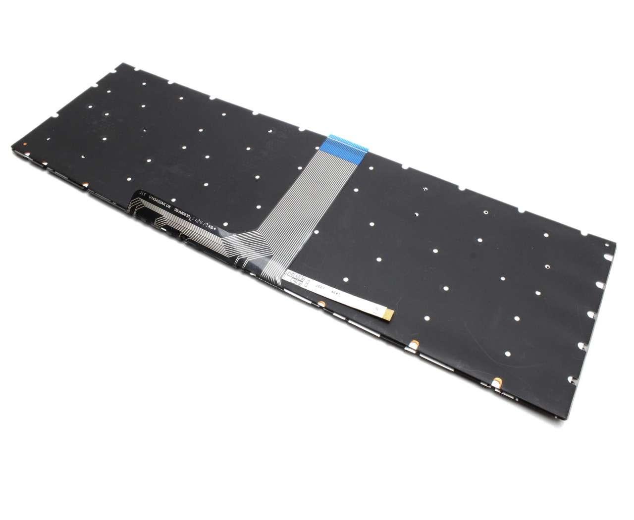 Tastatura MSI GE63VR 7RF Raider iluminata backlit imagine powerlaptop.ro 2021