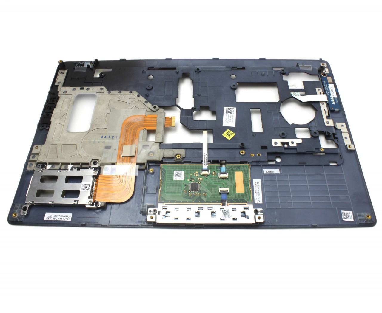 Palmrest Dell P7GPY Carcasa superioara neagra imagine powerlaptop.ro 2021