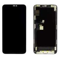 Ansamblu Display LCD + Touchscreen Apple iPhone 11 Pro Max TFT Negru Black. Ecran + Digitizer Apple iPhone 11 Pro Max TFT Negru Black