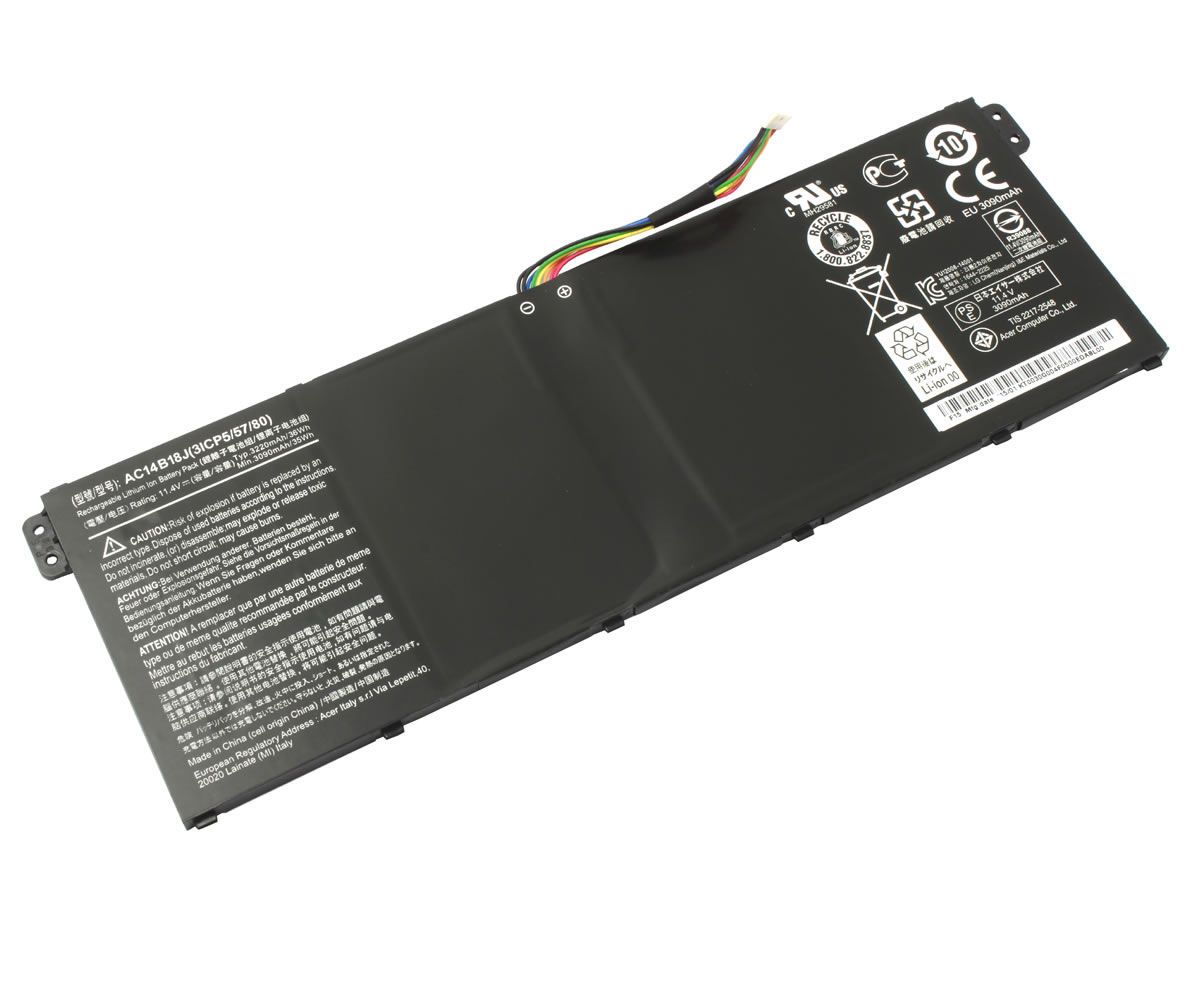Baterie Packard Bell EasyNote TE70BH Originala imagine powerlaptop.ro 2021