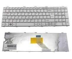 Tastatura Fujitsu Lifebook AH512 alba. Keyboard Fujitsu Lifebook AH512 alba. Tastaturi laptop Fujitsu Lifebook AH512 alba. Tastatura notebook Fujitsu Lifebook AH512 alba