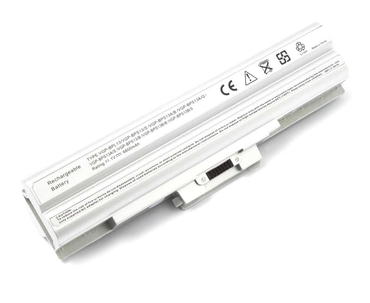 Baterie Sony Vaio VGN SR4 9 celule argintie imagine powerlaptop.ro 2021