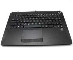Tastatura Asus  G46 Neagra cu Palmrest Negru iluminata backlit. Keyboard Asus  G46 Neagra cu Palmrest Negru. Tastaturi laptop Asus  G46 Neagra cu Palmrest Negru. Tastatura notebook Asus  G46 Neagra cu Palmrest Negru