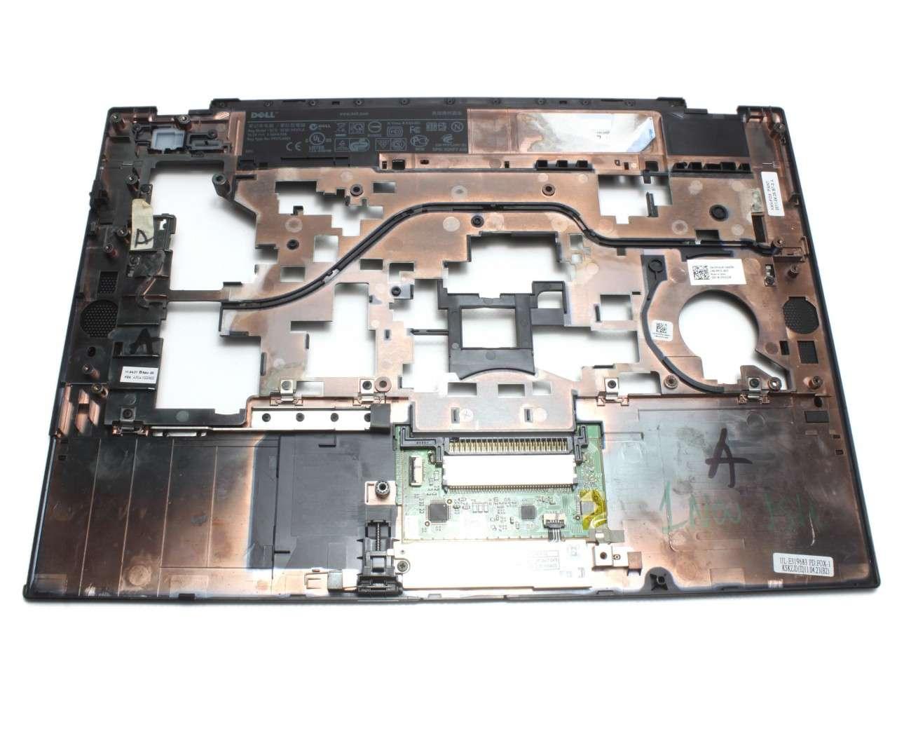 Palmrest Dell Latitude E6410 Negru cu touchpad imagine powerlaptop.ro 2021
