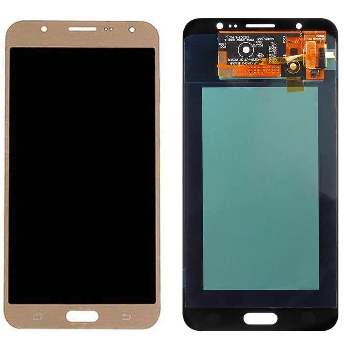 Display Samsung Galaxy J7 2016 J710 Display OLED AAA Gold Auriu imagine powerlaptop.ro 2021