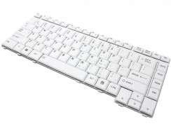 Tastatura Toshiba Qosmio F45 Alba. Keyboard Toshiba Qosmio F45 Alba. Tastaturi laptop Toshiba Qosmio F45 Alba. Tastatura notebook Toshiba Qosmio F45 Alba