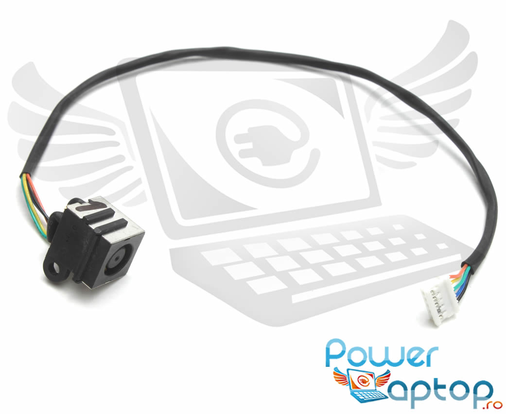 Mufa alimentare laptop Dell Inspiron N7010 cu fir imagine powerlaptop.ro 2021