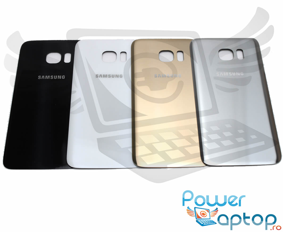 Capac Baterie Samsung Galaxy S7 Edge G935 Gold Capac Spate imagine powerlaptop.ro 2021
