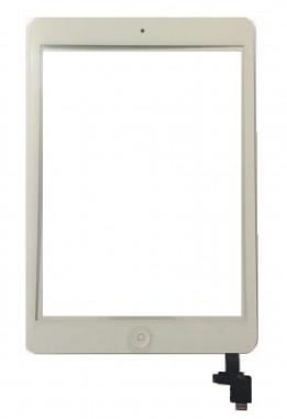 Digitizer Touchscreen Apple iPad Mini 2 A1489 A1490 A1491 cu buton home si cip IC. Geam Sticla Tableta Apple iPad Mini 2 A1489 A1490 A1491 cu buton home si cip IC
