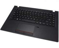 Tastatura Lenovo E31 Neagra cu Palmrest negru si Touchpad. Keyboard Lenovo E31 Neagra cu Palmrest negru si Touchpad. Tastaturi laptop Lenovo E31 Neagra cu Palmrest negru si Touchpad. Tastatura notebook Lenovo E31 Neagra cu Palmrest negru si Touchpad