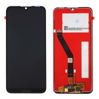 Ansamblu Display LCD + Touchscreen Huawei Y6 Prime 2019 Black Negru . Ecran + Digitizer Huawei Y6 Prime 2019 Black Negru