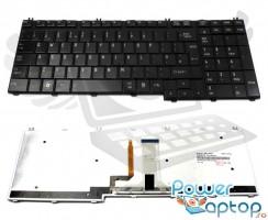 Tastatura Toshiba Qosmio F60 iluminata backlit. Keyboard Toshiba Qosmio F60 iluminata backlit. Tastaturi laptop Toshiba Qosmio F60 iluminata backlit. Tastatura notebook Toshiba Qosmio F60 iluminata backlit