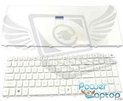 Tastatura Packard Bell  LM94 alba. Keyboard Packard Bell  LM94 alba. Tastaturi laptop Packard Bell  LM94 alba. Tastatura notebook Packard Bell  LM94 alba