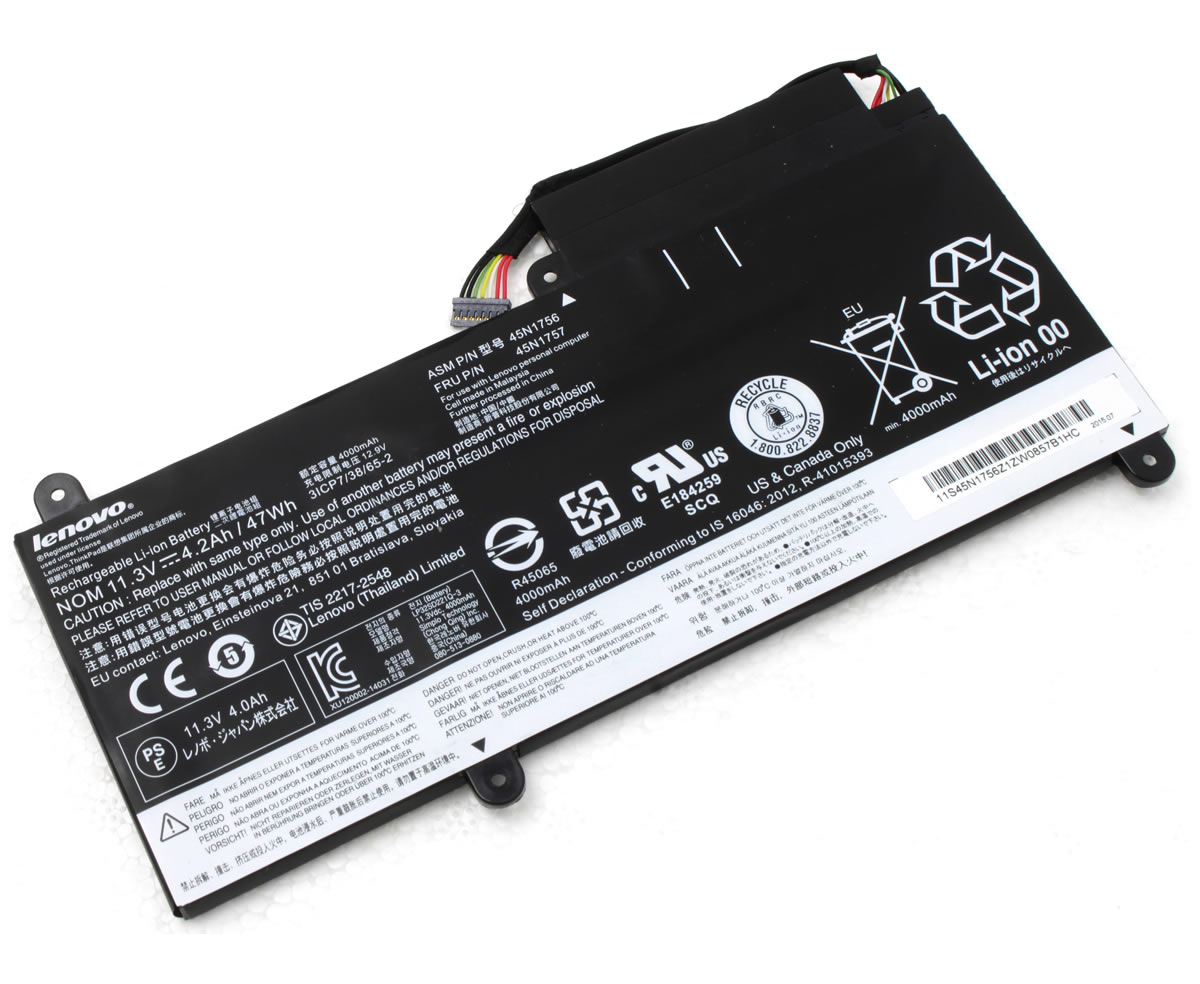 Baterie Lenovo 45N1752 Originala imagine powerlaptop.ro 2021