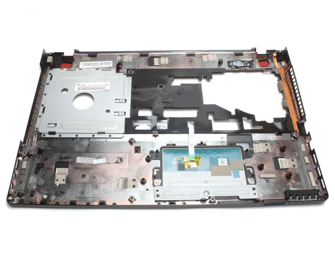 Palmrest Lenovo IdeaPad Y500 Negru cu touchpad imagine