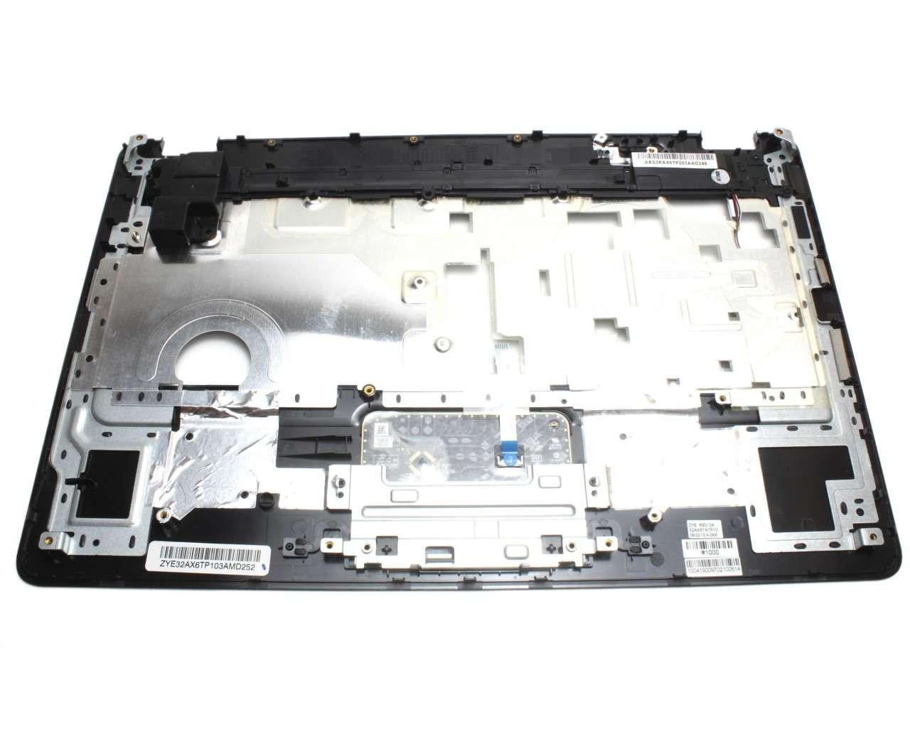 Palmrest HP G62 Negru cu touchpad imagine powerlaptop.ro 2021