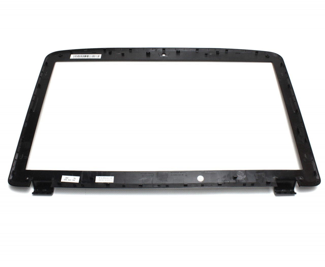 Rama Display Acer 60.PAQ01.001 Bezel Front Cover Neagra imagine