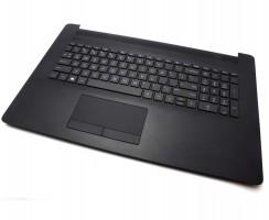 Tastatura HP 17-BY Neagra cu Palmrest Negru si TouchPad iluminata backlit. Keyboard HP 17-BY Neagra cu Palmrest Negru si TouchPad. Tastaturi laptop HP 17-BY Neagra cu Palmrest Negru si TouchPad. Tastatura notebook HP 17-BY Neagra cu Palmrest Negru si TouchPad