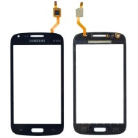 Touchscreen Digitizer Samsung Galaxy Core Duos i8262 Black Negru. Geam Sticla Smartphone Telefon Mobil Samsung Galaxy Core Duos i8262 Black Negru
