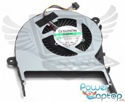 Cooler laptop Asus  13NB07Q1AM0901 Mufa 4 pini. Ventilator procesor Asus  13NB07Q1AM0901. Sistem racire laptop Asus  13NB07Q1AM0901
