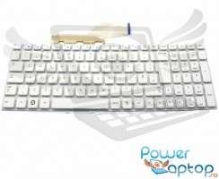 Tastatura Samsung  NP300E5X alba. Keyboard Samsung  NP300E5X. Tastaturi laptop Samsung  NP300E5X. Tastatura notebook Samsung  NP300E5X