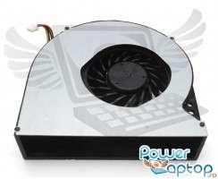 Cooler laptop Asus  G74SX. Ventilator procesor Asus  G74SX. Sistem racire laptop Asus  G74SX