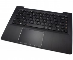 Tastatura Lenovo IdeaPad 300S-13ISK Neagra cu Palmrest negru iluminata backlit. Keyboard Lenovo IdeaPad 300S-13ISK Neagra cu Palmrest negru. Tastaturi laptop Lenovo IdeaPad 300S-13ISK Neagra cu Palmrest negru. Tastatura notebook Lenovo IdeaPad 300S-13ISK Neagra cu Palmrest negru