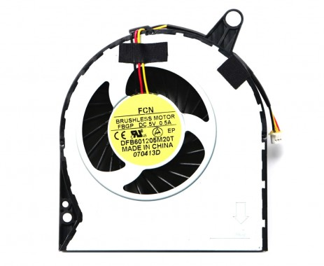 Cooler laptop Acer Aspire E1 731G Mufa 3 pini. Ventilator procesor Acer Aspire E1 731G. Sistem racire laptop Acer Aspire E1 731G