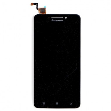 Ansamblu Display LCD  + Touchscreen Lenovo A5000. Modul Ecran + Digitizer Lenovo A5000