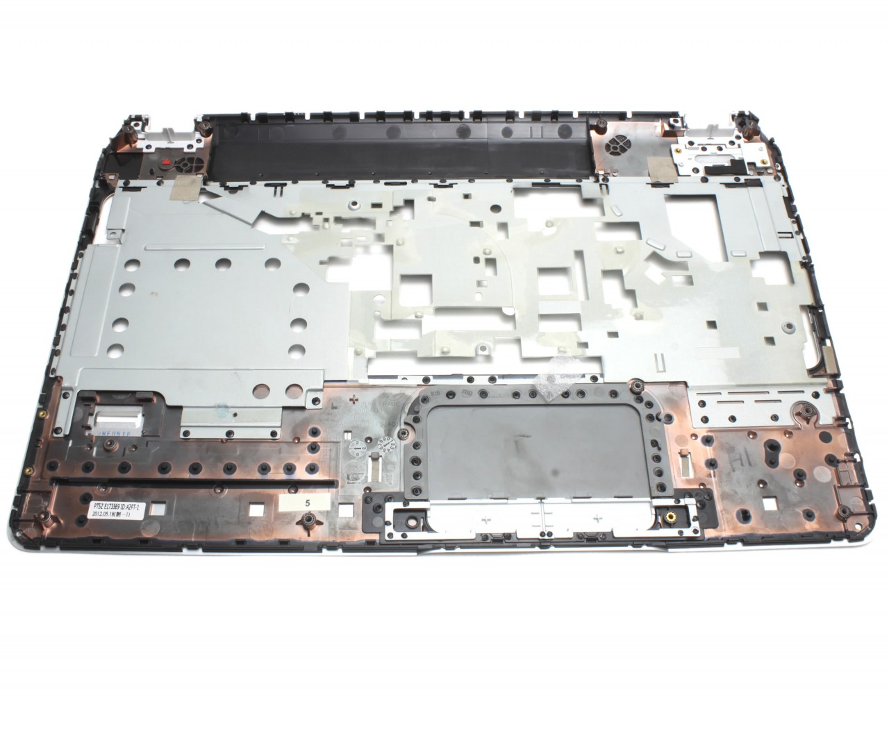 Palmrest HP SPS 690232 001 Argintiu fara touchpad imagine powerlaptop.ro 2021