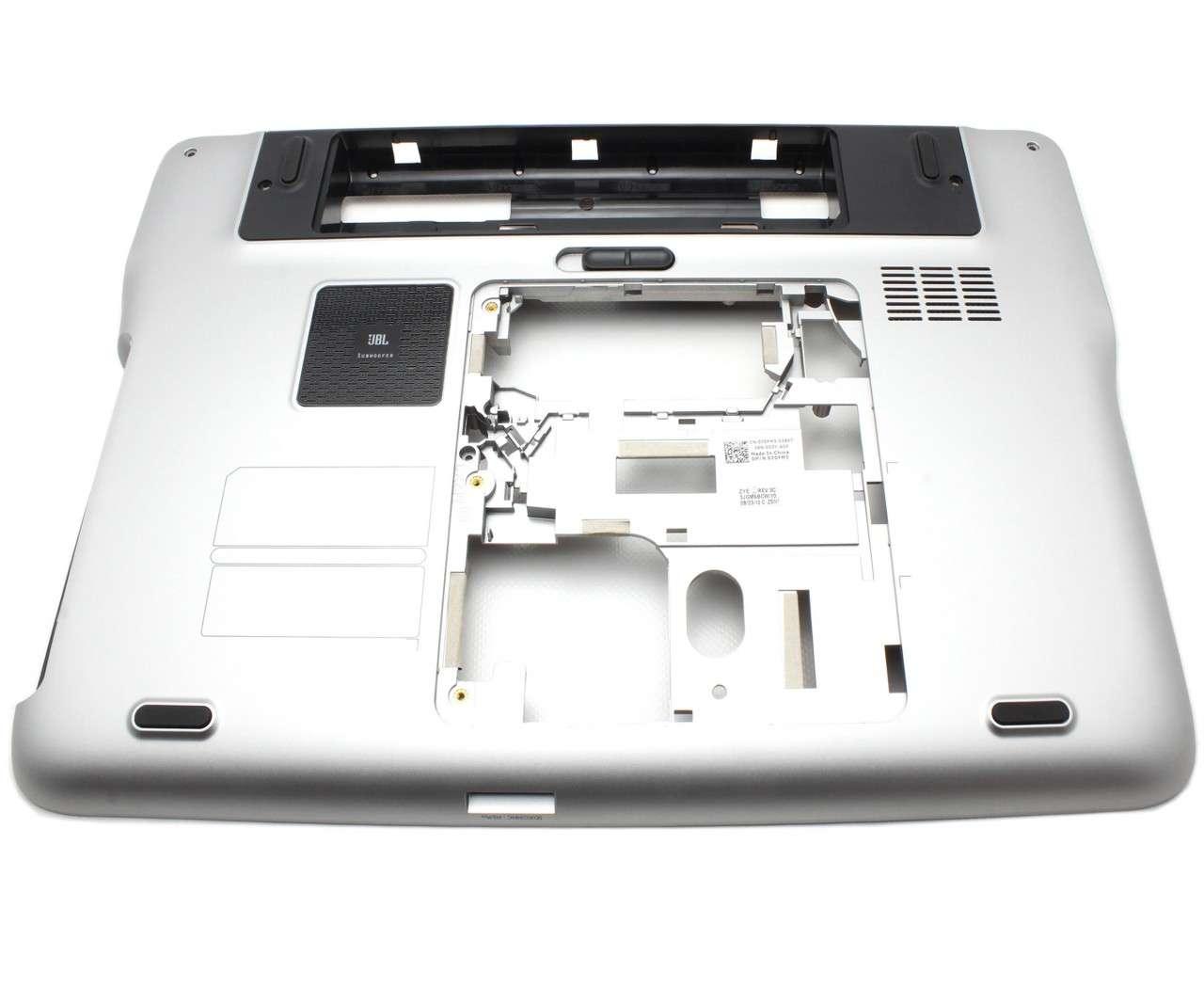 Bottom Case Dell XPS L502X Carcasa Inferioara Argintie imagine powerlaptop.ro 2021