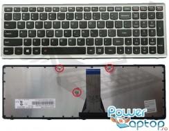 Tastatura Lenovo  25213035 Rama gri. Keyboard Lenovo  25213035 Rama gri. Tastaturi laptop Lenovo  25213035 Rama gri. Tastatura notebook Lenovo  25213035 Rama gri
