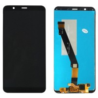 Ansamblu Display LCD + Touchscreen Huawei P Smart 2018 Blue Albastru . Ecran + Digitizer Huawei P Smart 2018 Blue Albastru