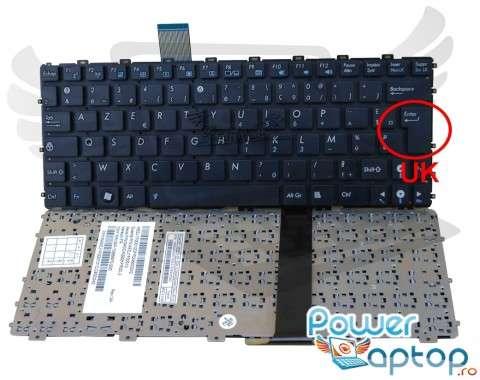 Tastatura Asus Eee PC 1011BX. Keyboard Asus Eee PC 1011BX. Tastaturi laptop Asus Eee PC 1011BX. Tastatura notebook Asus Eee PC 1011BX