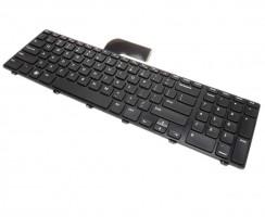 Tastatura Dell 9Z.N5ZBQ.01B iluminata backlit. Keyboard Dell 9Z.N5ZBQ.01B iluminata backlit. Tastaturi laptop Dell 9Z.N5ZBQ.01B iluminata backlit. Tastatura notebook Dell 9Z.N5ZBQ.01B iluminata backlit