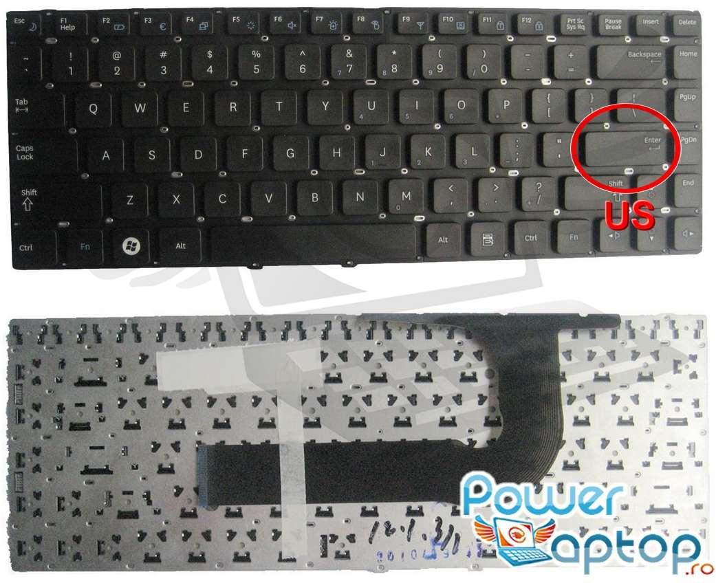 Tastatura Samsung SF411 layout US fara rama enter mic imagine
