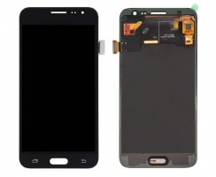 Ansamblu Display LCD + Touchscreen Samsung Galaxy J3 2016 J320G Black Negru . Ecran + Digitizer Samsung Galaxy J3 2016 J320G Negru Black