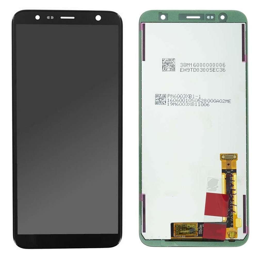 Display Samsung Galaxy J4+ Plus 2018 J415FN Display Original Service Pack Black Negru imagine powerlaptop.ro 2021