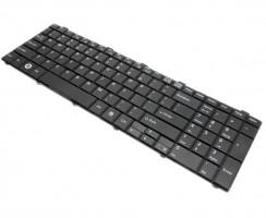 Tastatura Fujitsu Lifebook AH530 neagra. Keyboard Fujitsu Lifebook AH530 neagra. Tastaturi laptop Fujitsu Lifebook AH530 neagra. Tastatura notebook Fujitsu Lifebook AH530 neagra