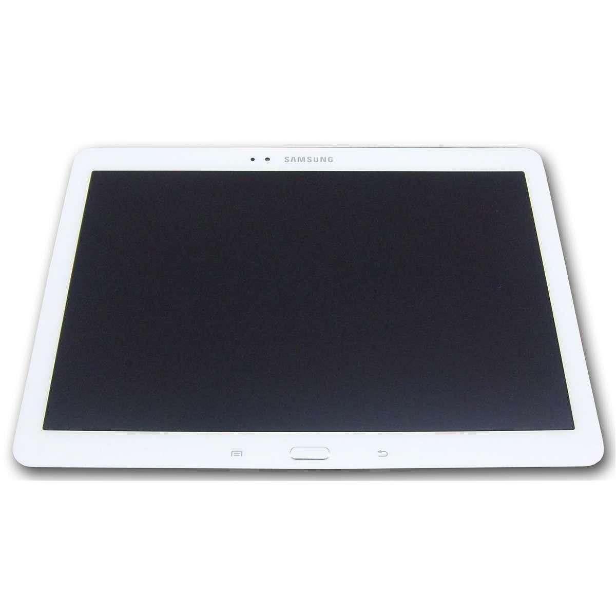 Ansamblu LCD Display Touchscreen Samsung P601 Galaxy Note 10.1 2014 3G Alb imagine powerlaptop.ro 2021