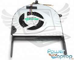 Cooler laptop Asus ROG N751JV. Ventilator procesor Asus ROG N751JV. Sistem racire laptop Asus ROG N751JV